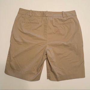 Talbots Shorts - Talbots Khaki Bermuda Shorts Size 10